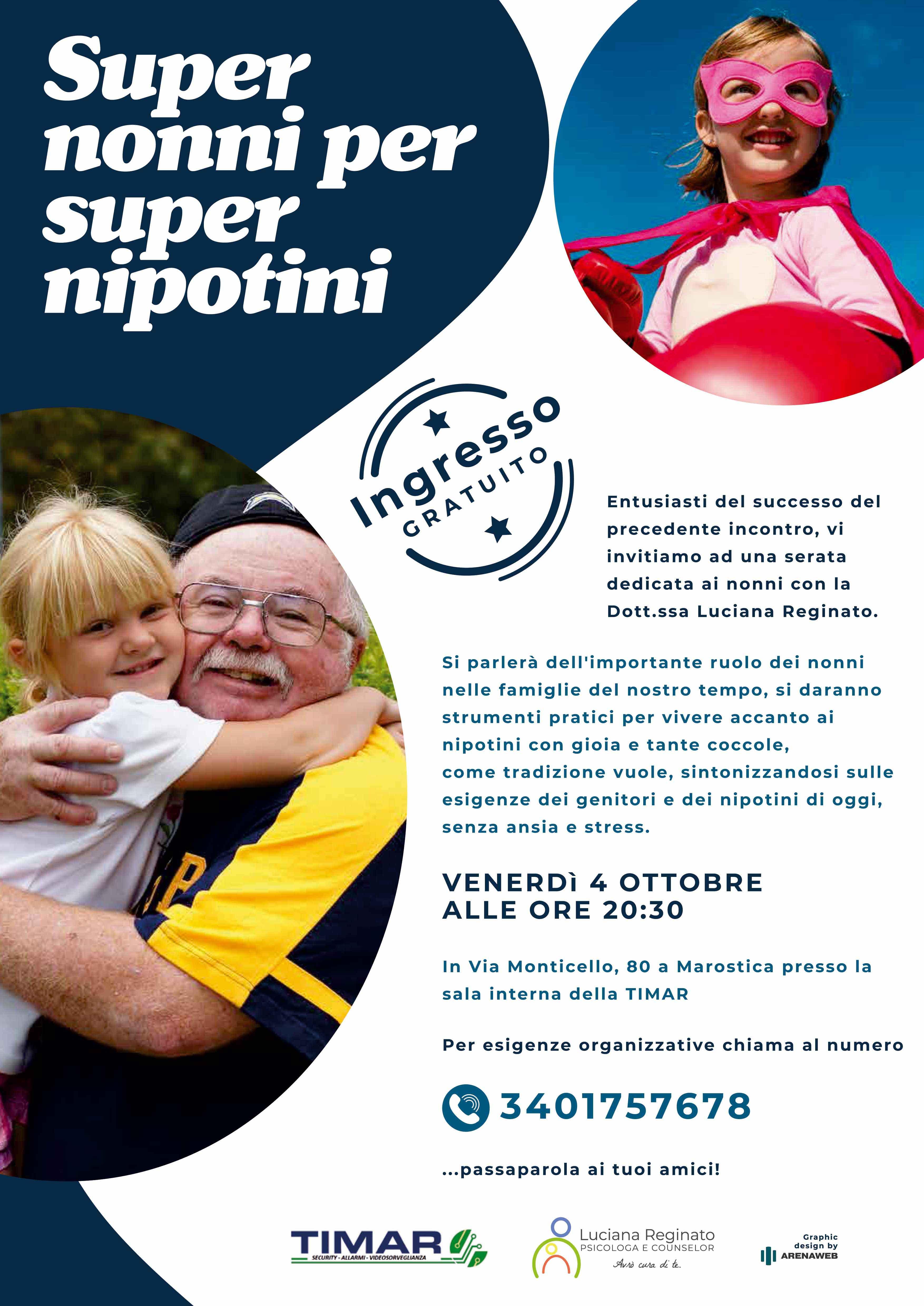 Super Nonni per Super Nipotini
